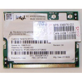 Intel WM3B2100 - Carte Wifi Intel ProSet 802.11b