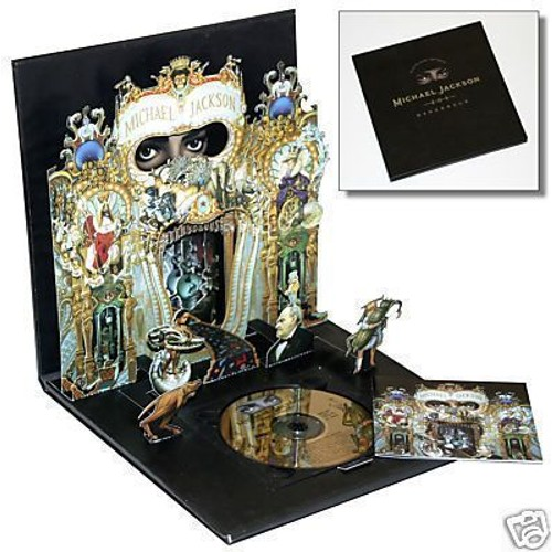 coffret collector dangerous michael jackson cd album. Black Bedroom Furniture Sets. Home Design Ideas