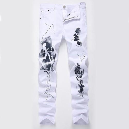 89f42754697e jean homme blanc fashion pas cher ou d occasion sur Rakuten