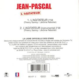 L Agitateur l'agitateur - jean pascal (star academy): cd single - rakuten