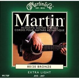 Petite annonce Martin Bronze 80/20 M170f - Jeu De Cordes Extra Light 10-47 Pour Guitare Folk Acoustique