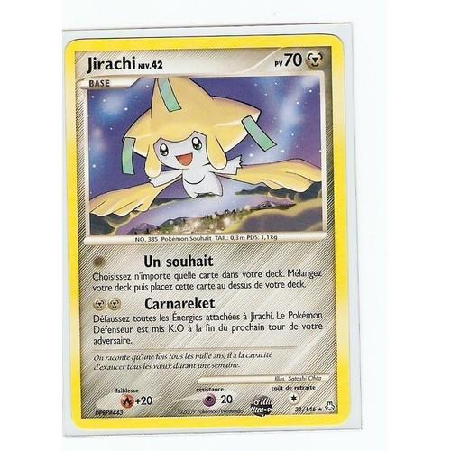 Jirachi eveil des legendes 70 pv 31 146 neuf et d 39 occasion - Carte pokemon jirachi ...