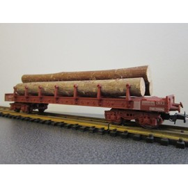 Jouef Wagon Plat Ranchers � Bogie Diamond Ref: 6550