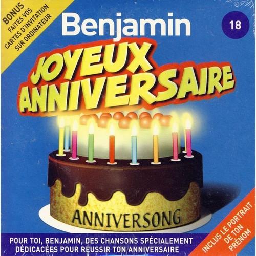 chanson anniversaire benjamin
