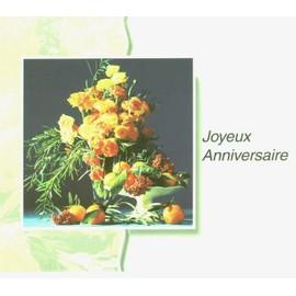 Joyeux Anniversaire Bouquet De Fleurs Achat Et Vente Rakuten