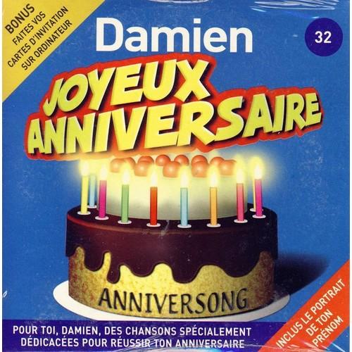 Anniversong Joyeux Anniversaire Damien Cd Album Rakuten