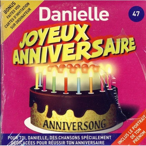 Anniversong Joyeux Anniversaire Danielle Cd Album Rakuten