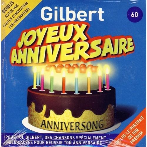 Anniversong Joyeux Anniversaire Gilbert Cd Album Rakuten