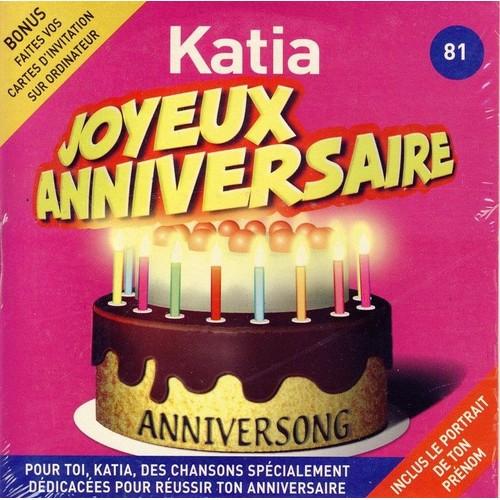 Anniversong Joyeux Anniversaire Katia Cd Album Rakuten