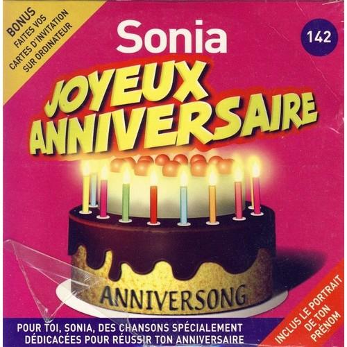 joyeux anniversaire sonia chanson