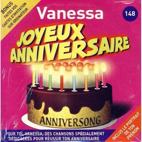 Anniversong Joyeux Anniversaire Vanessa Cd Album Rakuten