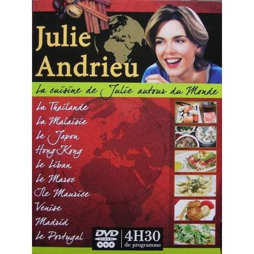 Julie andrieu la cuisine autour du monde dvd zone 2 - Julie cuisine le monde ...
