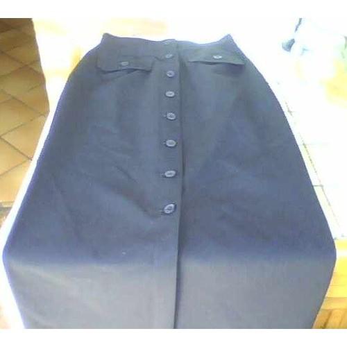 a9b0e296bda025 jupe longue boutonnee devant pas cher ou d'occasion sur Rakuten