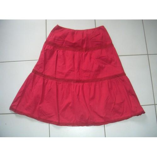 b89abc8be70 jupe rouge dentelle pas cher ou d occasion sur Rakuten