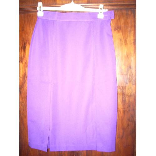 aaa92ec9cb2951 jupe taille 38 violette pas cher ou d'occasion sur Rakuten
