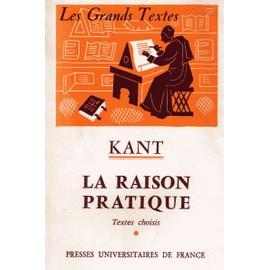 La Raison Pratique de Kant