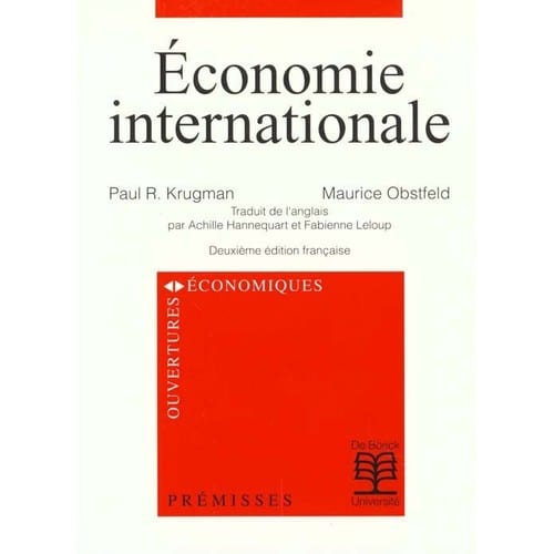 economie internationale paul krugman