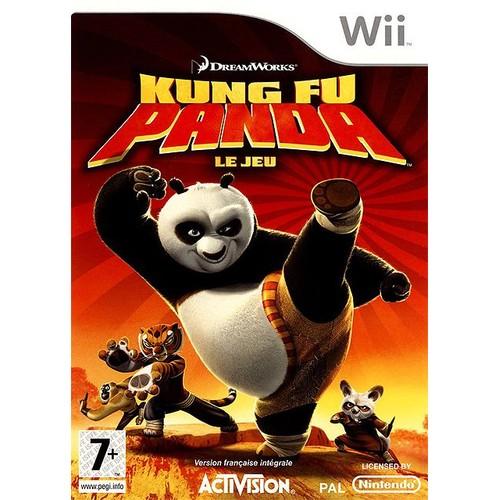 kung fu panda achat vente de jeu wii priceminister. Black Bedroom Furniture Sets. Home Design Ideas