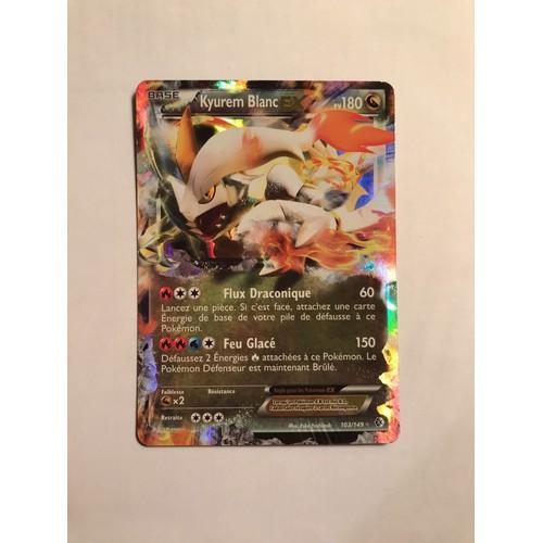 Kyurem blanc ex cartes de jeux neuf et d 39 occasion - Carte pokemon kyurem blanc ex ...