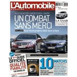 L'automobile Magazine N� 741 : Bmw/Mercedes + Guide Fiabilit� 2008
