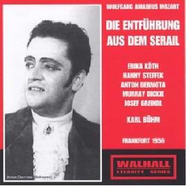 L'enl�vement Au S�rail, Singspiel En 3 Actes - Wolfgang Amadeus Mozart