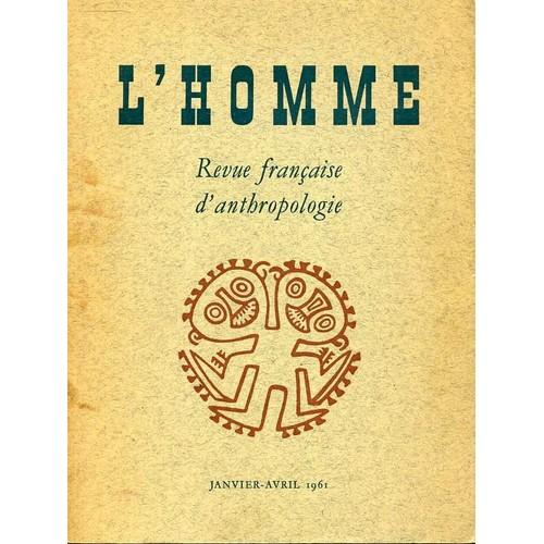 HOMME- REVUE FRANCAISE D'ANTHROPOLOGIE (L')