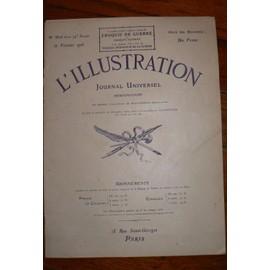 L'illustration, Journal Universel, N� 3806, 12/02/1916