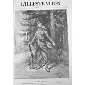 L'illustration. Revue Hebdomadaire. Collection Compl�te, En Fascicules, De La Grande Guerre, Du 4 Juillet 1914 Au 2 Ao�t 1919 de