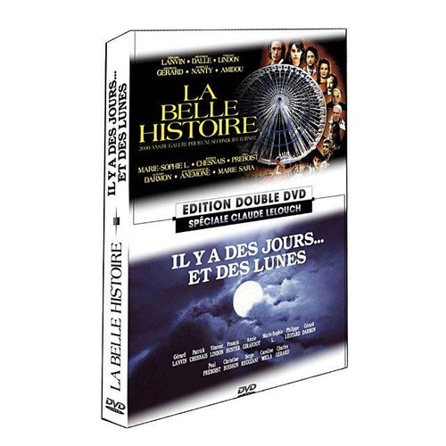 la belle histoire de claude lelouch en dvd neuf et d. Black Bedroom Furniture Sets. Home Design Ideas