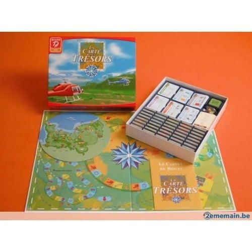 la carte aux tr sors achat vente de jeux de soci t priceminister rakuten. Black Bedroom Furniture Sets. Home Design Ideas
