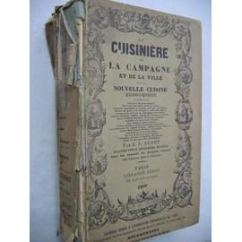 La cuisiniere de la campagne et de la ville ou nouvelle for Anciens livres de cuisine