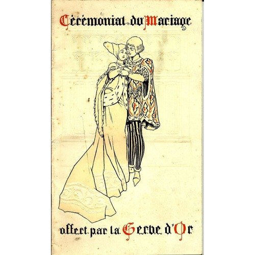 le crmonial du mariage dessin de ren vincent de collectif - Dessin Mariage