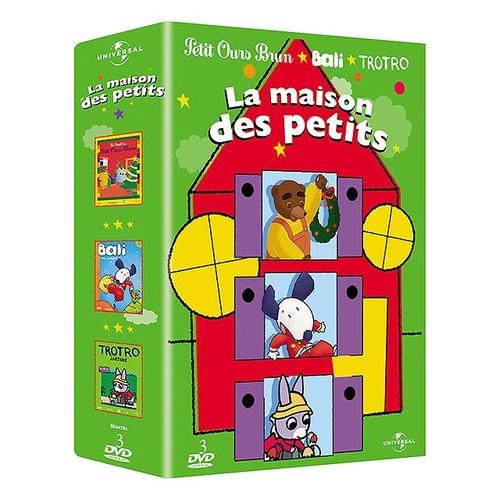 La maison des petits coffret bali vite au dodo le no l de petit ours brun trotro - Trotro et noel ...