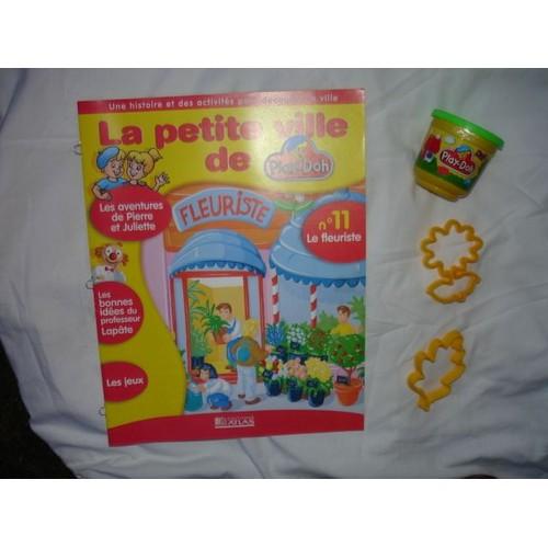 La Petite Ville De Play Doh Fascicule N 11 Le Fleuriste Pot Pate A Modeler 2 Emporte Pieces 728892304 L