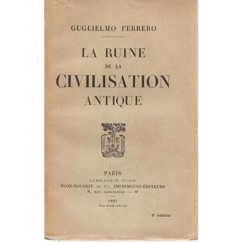 """Résultat de recherche d'images pour """"LA RUINE DE LA CIVILISATION ANTIQUE"""""""