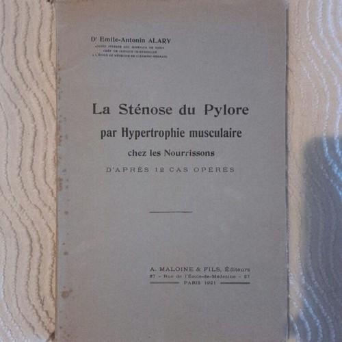 La Stenose Du Pylore Par Hypertrophie Musculaire Chez Les ...