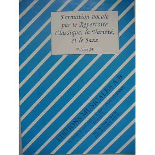 Formation Vocale Par Le Répertoire Classique, La Variété