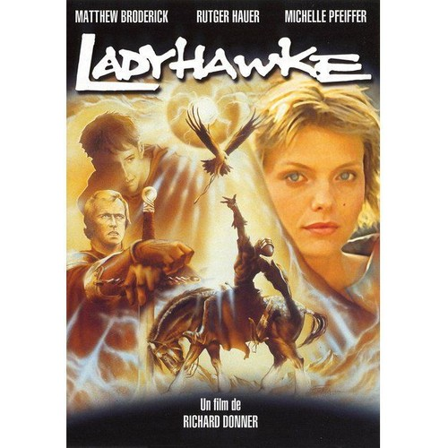 ladyhawke de richard donner en dvd neuf et d 39 occasion sur rakuten. Black Bedroom Furniture Sets. Home Design Ideas