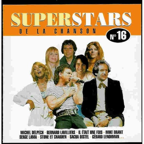 Superstar De La Chanson - Vol 16 - Serge