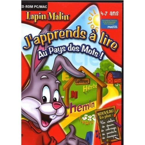 Lapin malin j 39 apprends a lire au pays des mots 4 7 ans - Lapin malin gratuit ...