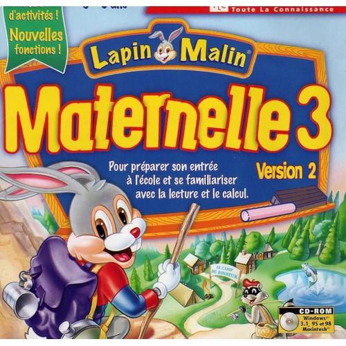 Lapin malin maternelle 3 achat vente de jeu pc rakuten - Lapin malin gratuit ...