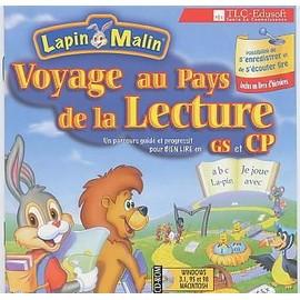 Lapin malin voyage au pays de la lecture gs et cp achat - Lapin malin gratuit ...