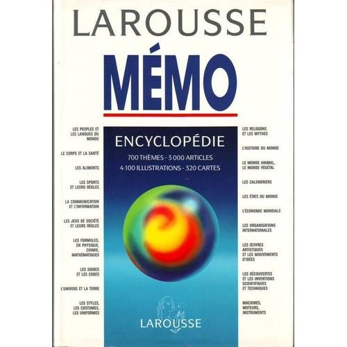 encyclopedie generale larousse