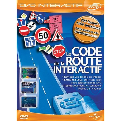 le code de la route interactif dvd interactif dvd zone 2. Black Bedroom Furniture Sets. Home Design Ideas
