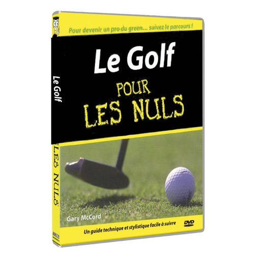 le golf pour les nuls en dvd blu ray ou vod pas cher. Black Bedroom Furniture Sets. Home Design Ideas