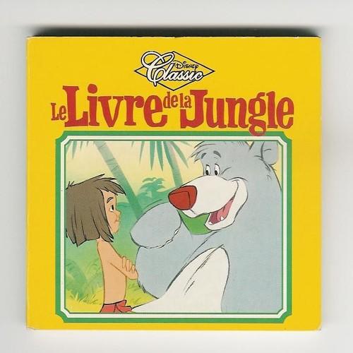 le livre de la jungle mini livre jouet du happy meal mac donald s mac do. Black Bedroom Furniture Sets. Home Design Ideas