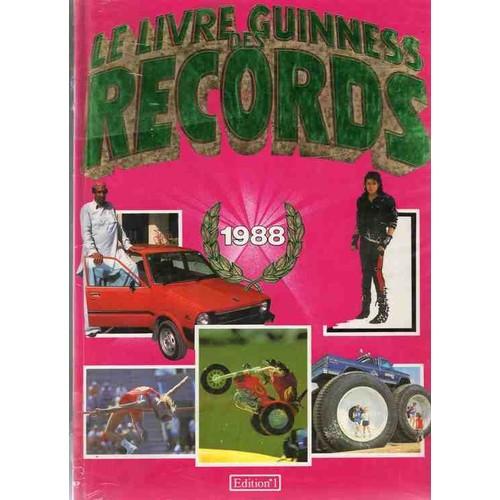 le livre des records guiness 1988 achat vente neuf occasion. Black Bedroom Furniture Sets. Home Design Ideas