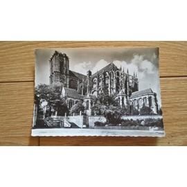 Le Mans , Cath�drale Saint-Julien , L'abside - Ann�es 50 Ou 60
