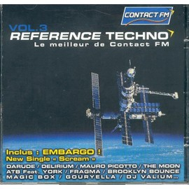 Reference Techno - Le Meilleur De Contact Fm