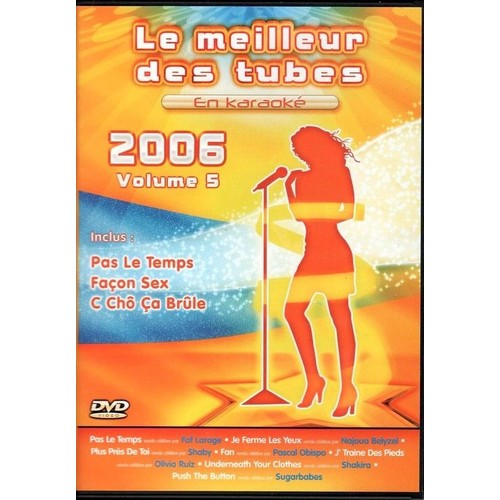 Le meilleur des tubes en karaok 2006 vol 5 dvd zone 2 - Code avantage aroma zone frais de port ...